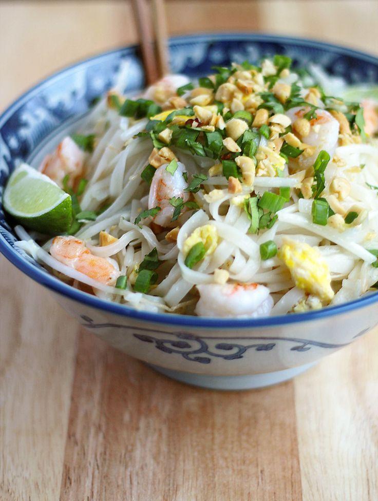 quick & easy shrimp pad thai | Recipes (Asian Cuisines) | Pinterest