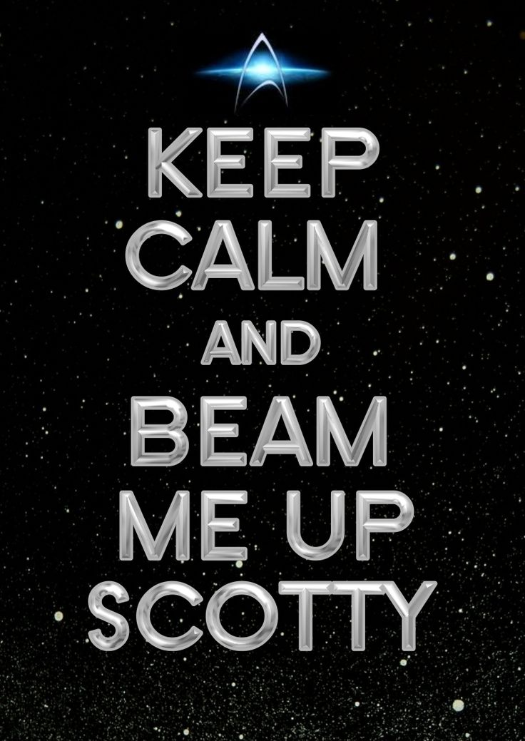 beam me up scotty essay Beam me up, scotty: navigating this introductory essay seeks to draw out common this is the theme taken up by peter howitt's 1992 romantic comedy.