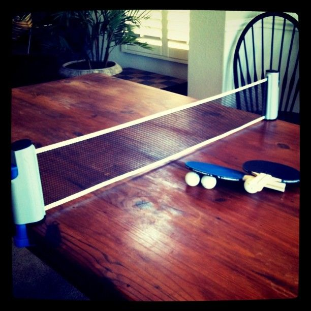 Dining Room Table Ping Pong So Fun