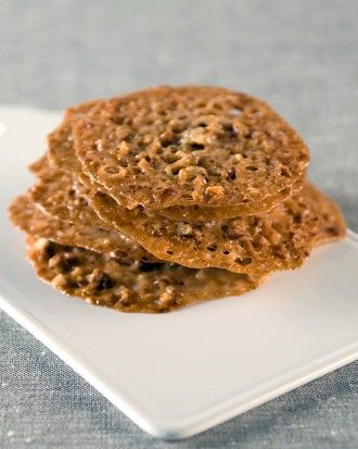 ... John's Pecan-Lace Cookies in our Traditional Christmas Cookies gallery