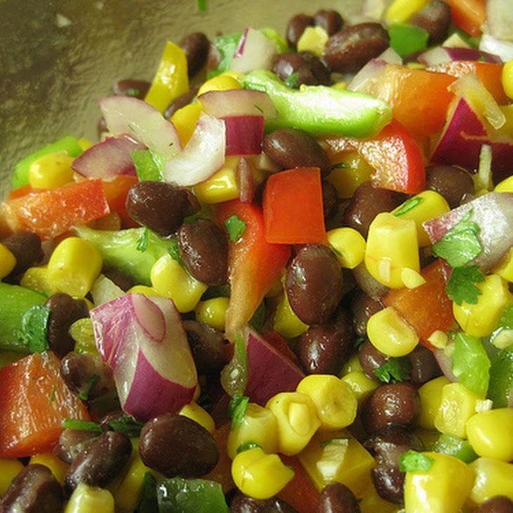 Mexican Bean Salad IV Recipe | Recipes | Pinterest