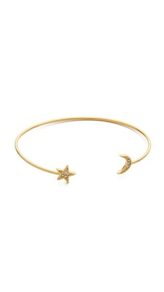 Star + Moon: Sweet mom jewelry idea without being actual mom jewelry. Plus, great price.