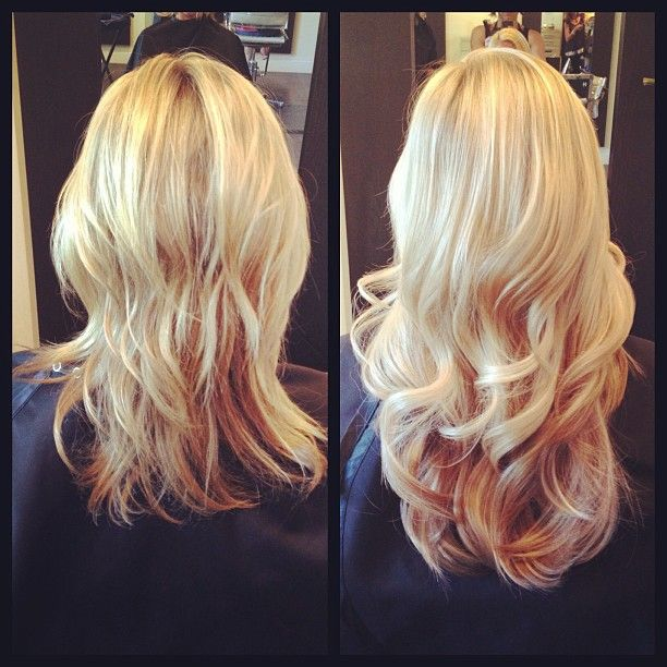 Blonde Bombshell Hair Extensions Triple Weft Hair Extensions