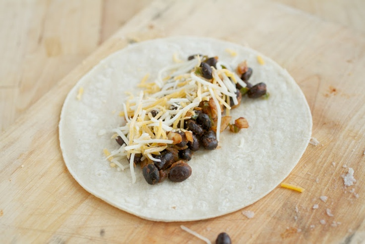 Baked Black Bean Taquitos | Naturally Ella
