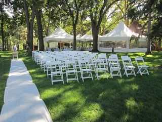 Outdoor wedding  tent and chairs  Tent/Outdoor Ideas  Pinterest