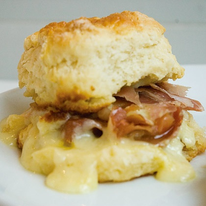 Country Ham Biscuit | Yum! | Pinterest