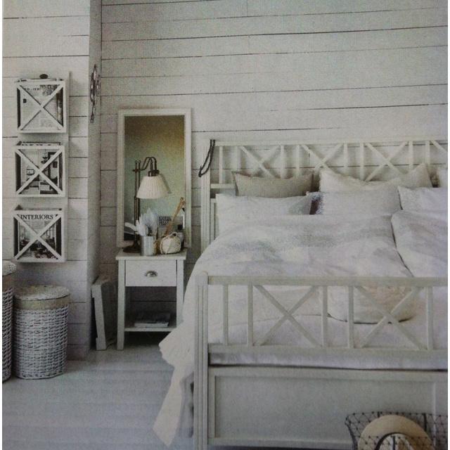 Harmoniskt Sovrum Med Skärgårdskänsla Bedroom Pinterest