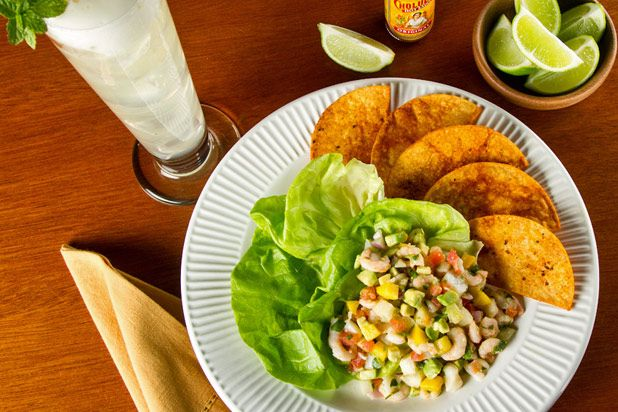 Shrimp and Scallop Ceviche | Seafood | Pinterest