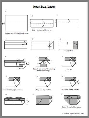 Origami Rectangle Box