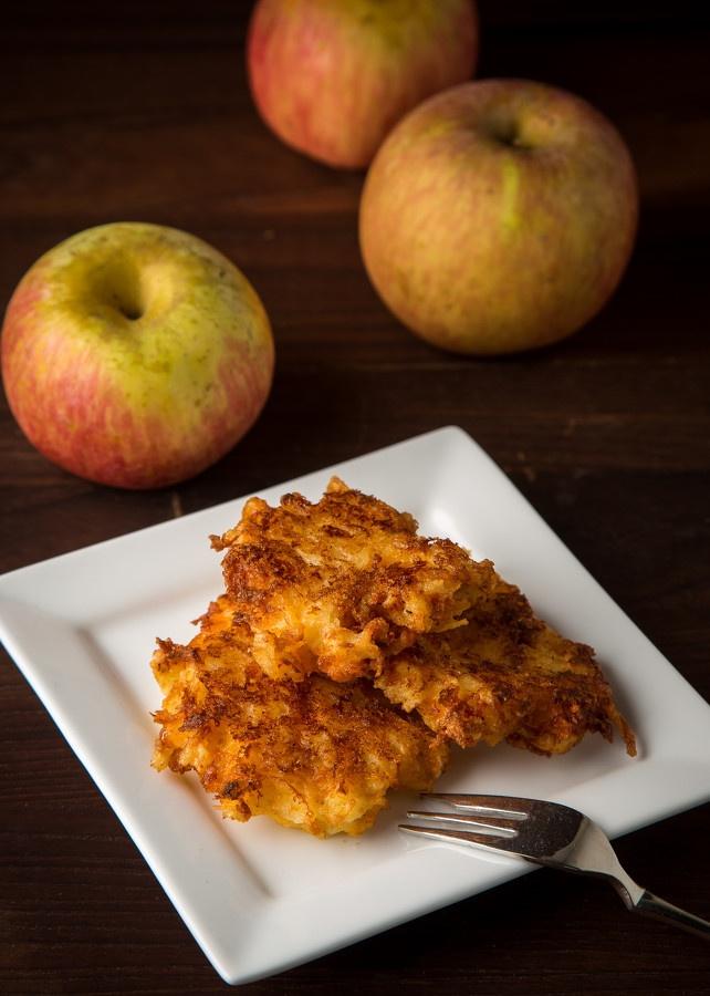 Apple Cheddar Latkes | latkes | Pinterest