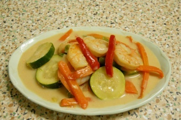 10 minute red curry prawn and vegetables | Food For Thought | Pintere ...
