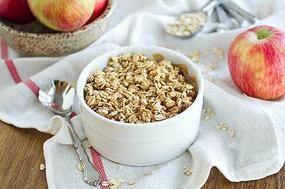 """Key words: HEALTHY, Baked """"Apple Pie"""" Oatmeal. Breakfast tomorrow? ..."""