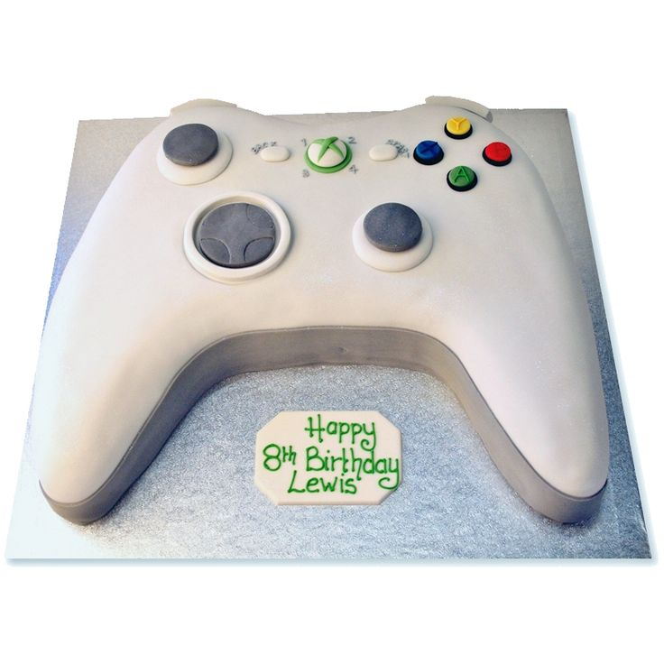 game controller cakes