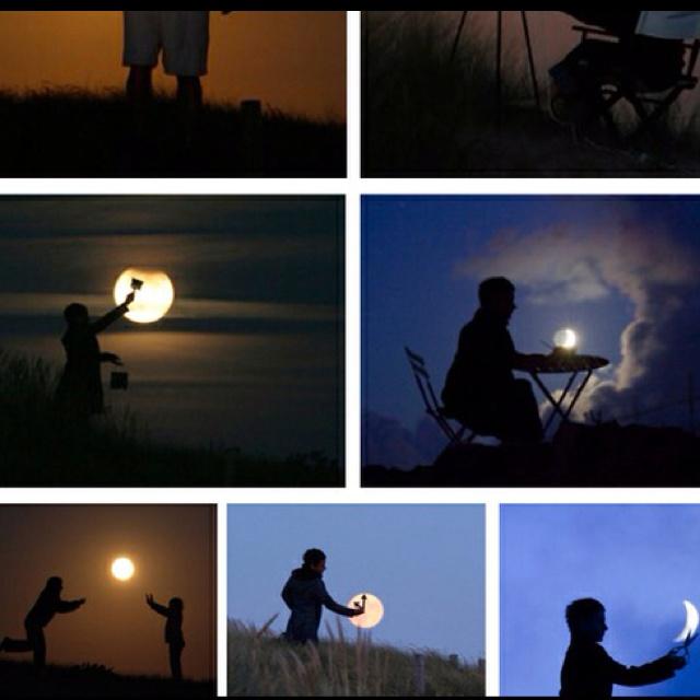 Creative moon pics