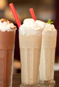 adores their toasted marshmallow shake. They also have spiked shakes ...