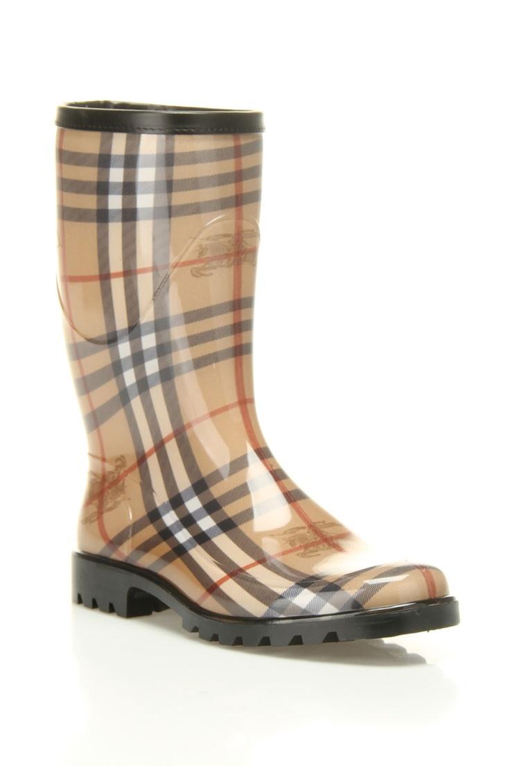 burberry rain boots shoes that rock pinterest