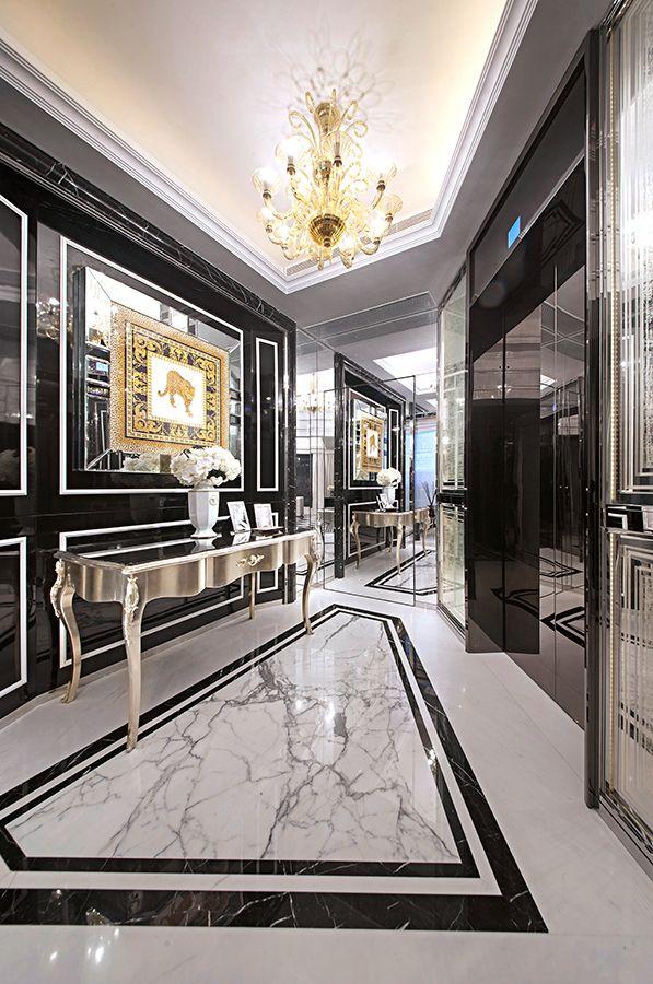 Steve leung designers project pages designer steve - Luxury foyer interior design ...