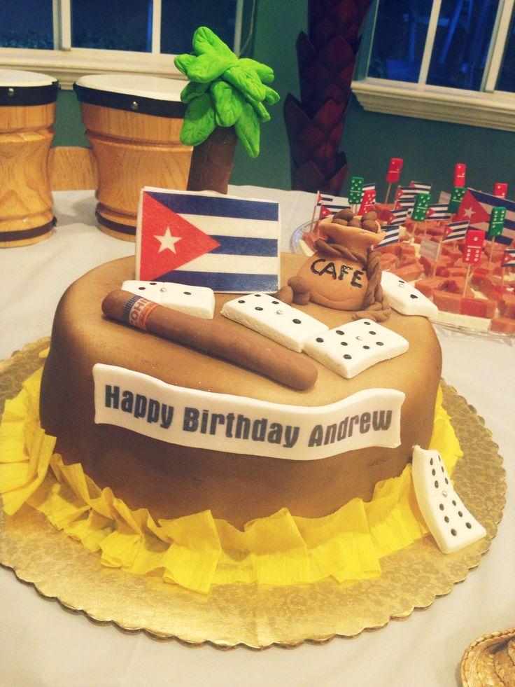 Cuban themed party Rehearsal dinner Pinterest
