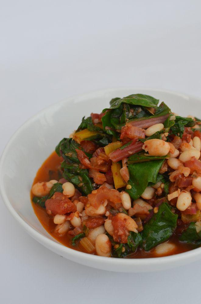 ... beans add bulk swiss chard white bean stew 5 quick white bean stew