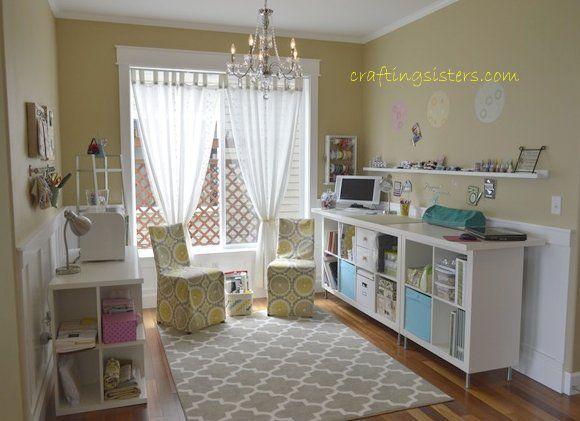 craft room on a budget craft ideas pinterest