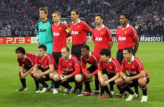 manchester united squad picture 2014