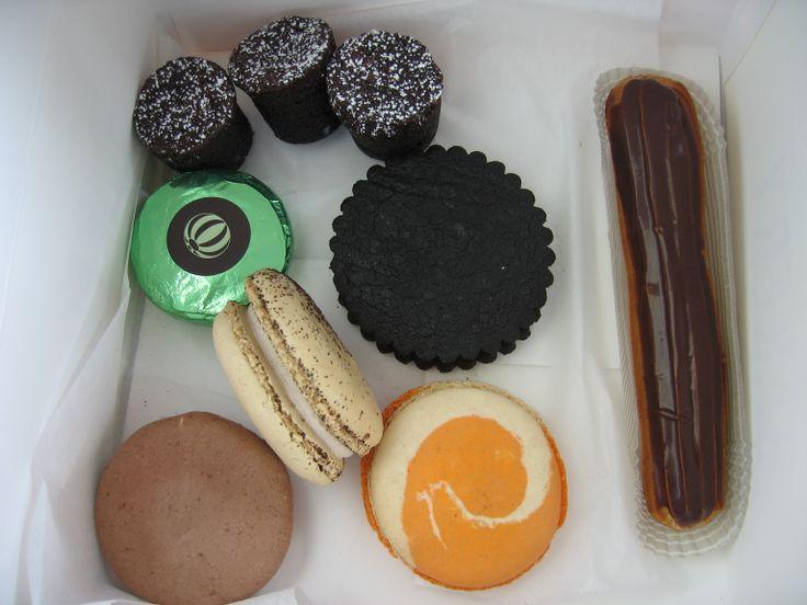 18/10 Assortment of goodies from Bouchon Bakery: Bouchons, TKO ...
