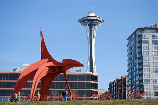 Seattle's Olympic Sculpture Park | Places & Spaces | Pinterest
