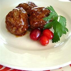 Cranberry Cocktail Meatballs | Recipe