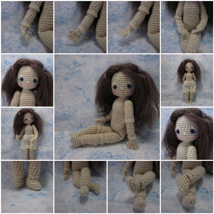 Crocheting By Hand : By Hook, By Hand - blog about handmade dolls, cloth and crochet...many ...