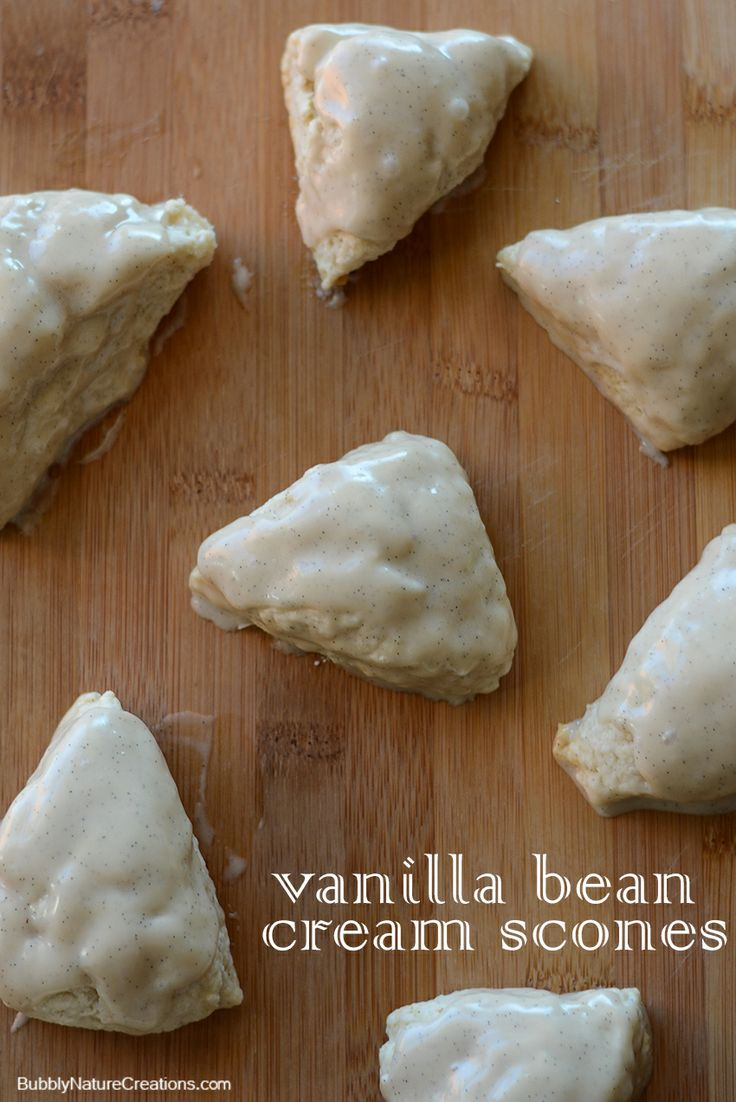 Vanilla Bean Cream Scones | Recipe