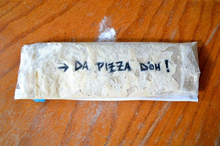 ... , no knead, two minute, make ahead pizza dough from Bad Mama Genny