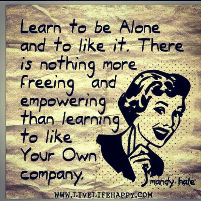 I Am Alone But Happy Quotes Alone But Happy   QUOT...
