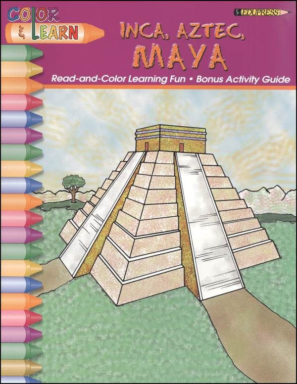 maya aztec inca activity book additional photo inside page images frompo. Black Bedroom Furniture Sets. Home Design Ideas