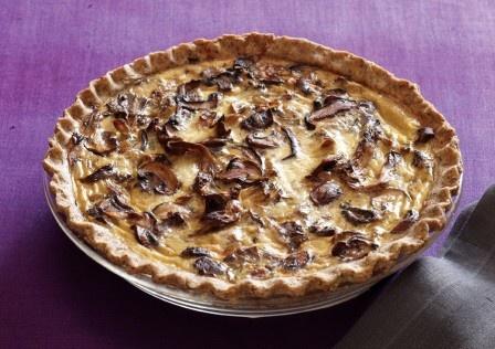 Mushroom Pie @ Veg Times | Mushroom Love:) | Pinterest