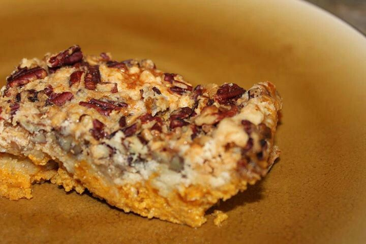 Pumpkin crunch cake | sweettooth | Pinterest