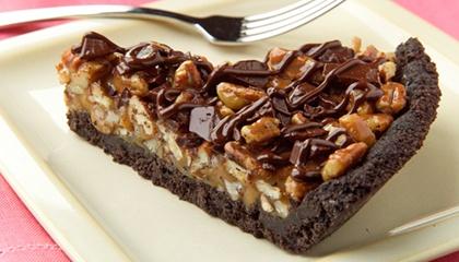 Chocolate Chunk-Caramel Pie | Sweets | Pinterest