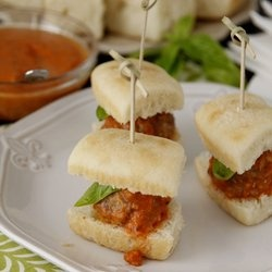 Slow Cooker Mini Meatball Sliders — Punchfork