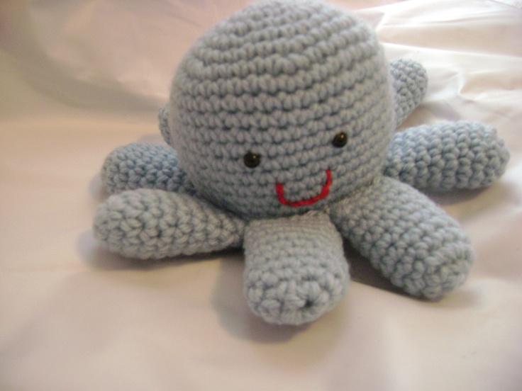amigurumi crochet octopus My craft projects Pinterest