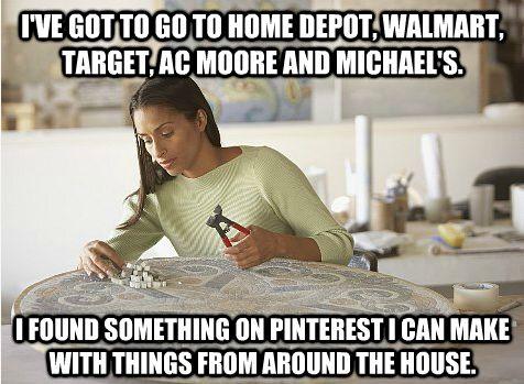 Pinterest in a nutshell (have to buy nutshells)