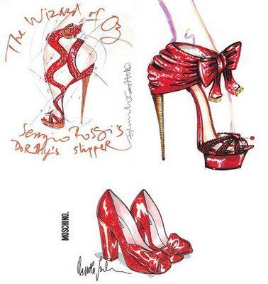 red. Cute designs