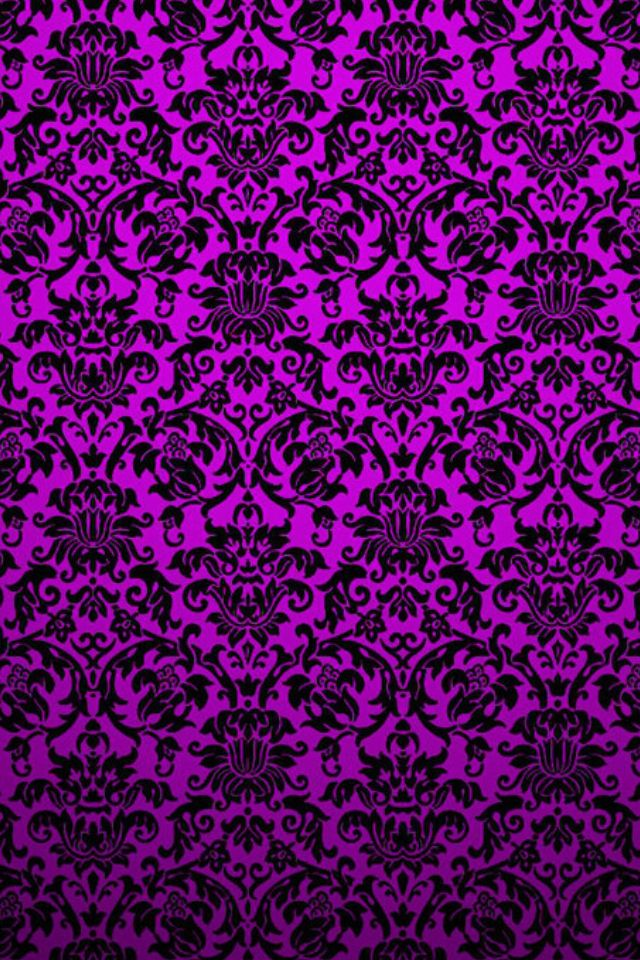 Purple wallpaper iphone wallpapers shelves pinterest - Purple and white wallpaper ...