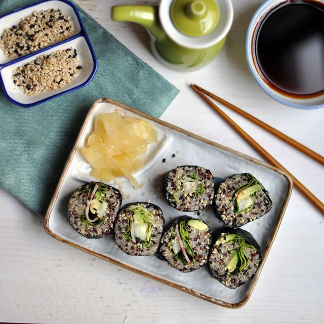 Quinoa Sushi | Things To Eat | Pinterest