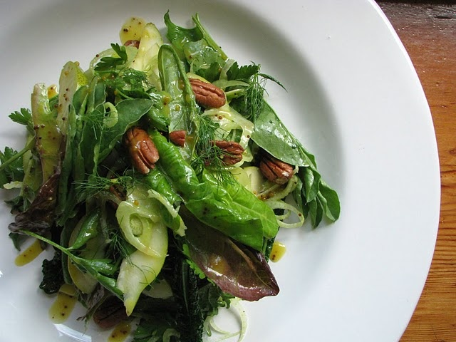 spring fennel pear and pecan salad | Foods That Are To Die For | Pint ...