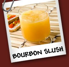 Bourbon Slush! I see a new summer cocktail in my future!