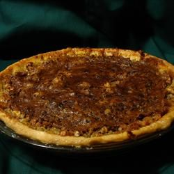 Chocolate Oatmeal Pie Allrecipes.com I am baking this right now and ...