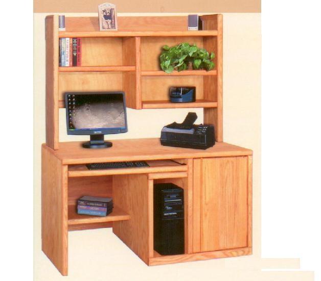 Contemporary Computer Desk With Door | Office || Desks | Pinterest