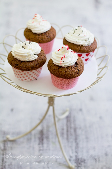 Coffee & chocolate cupcakes | for the love of cupcakes | Pinterest