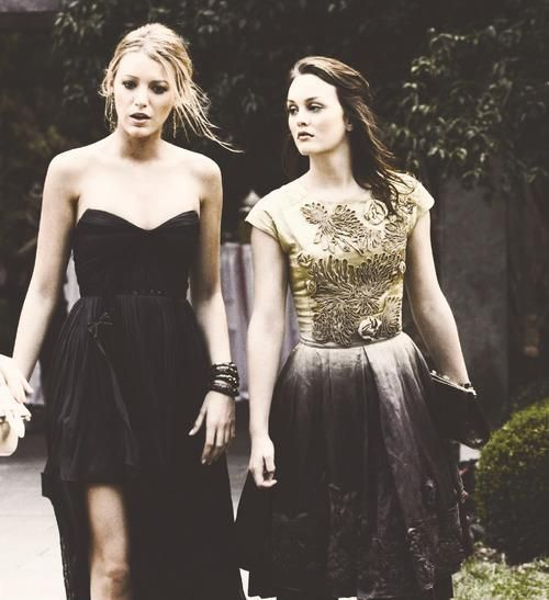 Serena and Blair, in love with their grunge femininity here, stunners...