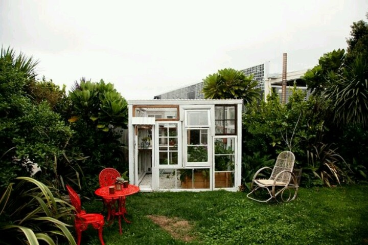 Greenhouse made from recycled windows helpful tips info for Reclaimed window greenhouse