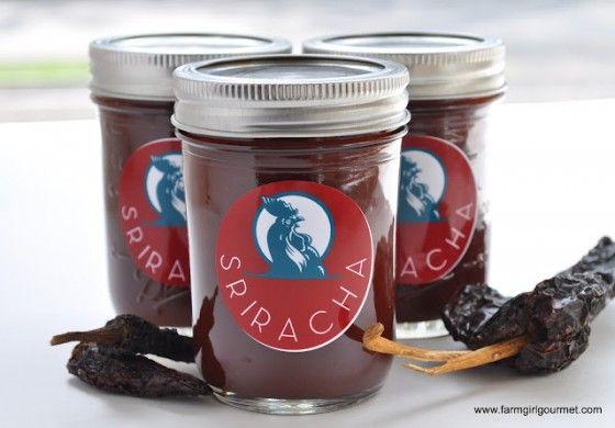 Homemade Sriracha by Farmgirl Gourmet